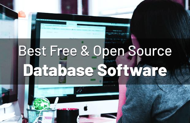 Best Open Source Database Software