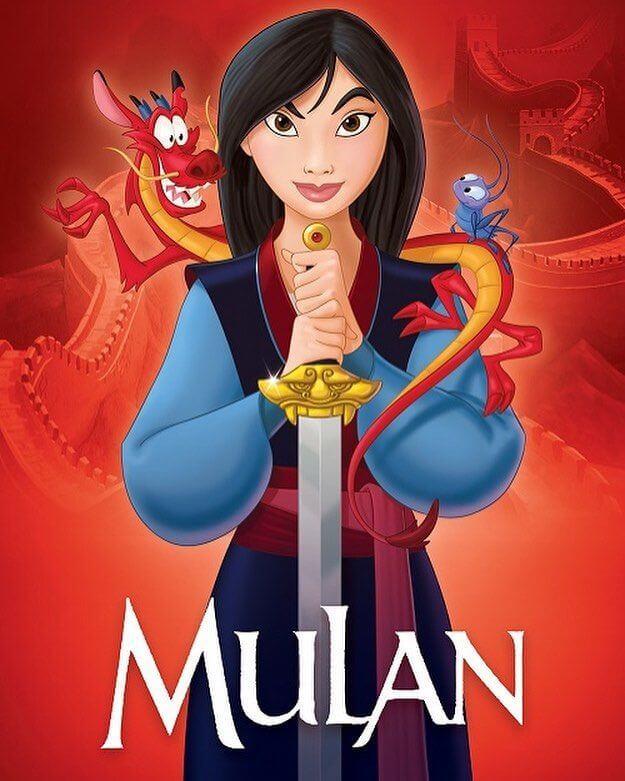 Mulan animation